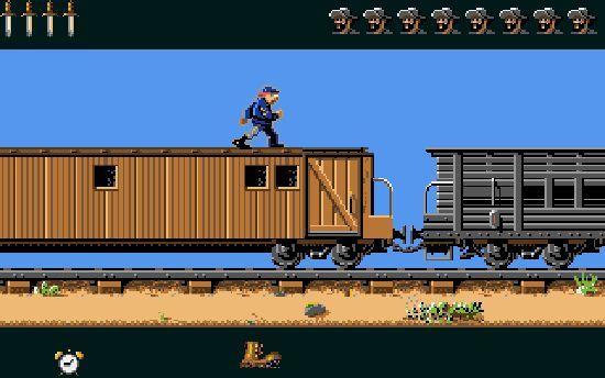 North-South-train