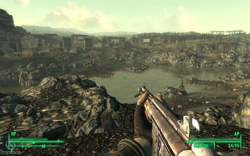 fallout 3 большой открытый мир