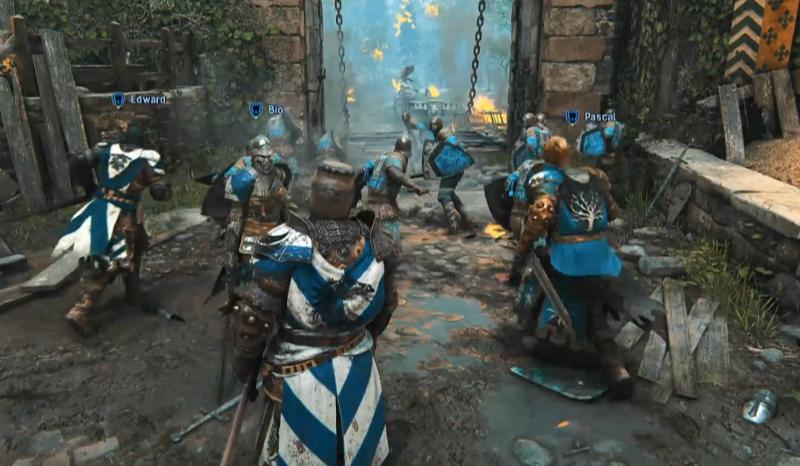 for honor средневековый бой