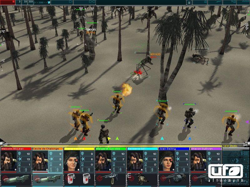 ufo aftermath тактическая часть бой