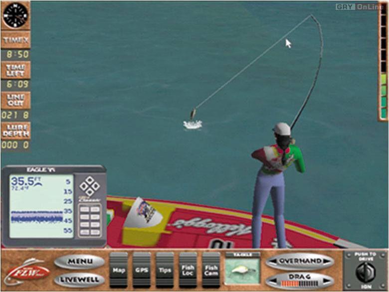 FLW Professional Bass Tournament 2000 - симулятор рыбалки
