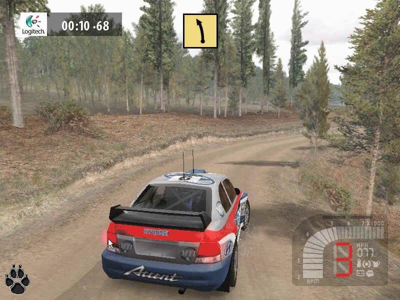 Richard Burns Rally - симулятор раллийных гонок